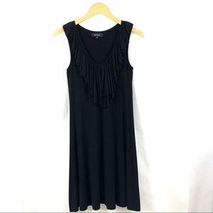 KAREN KANE Black Jersey Dress Sleeveless Sundress